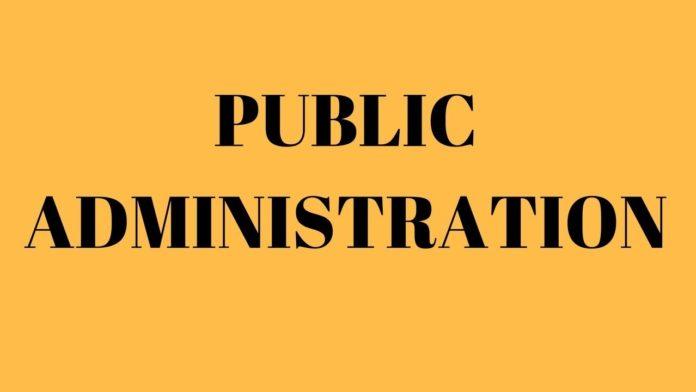 Principles of public administration
